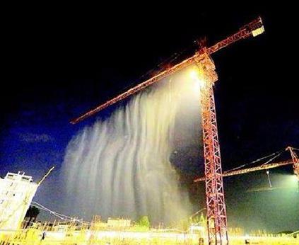 黃山全自動塔吊噴淋