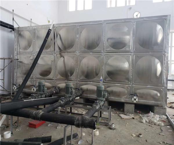 三門峽不銹鋼水箱 組合式水箱定制 安全可靠