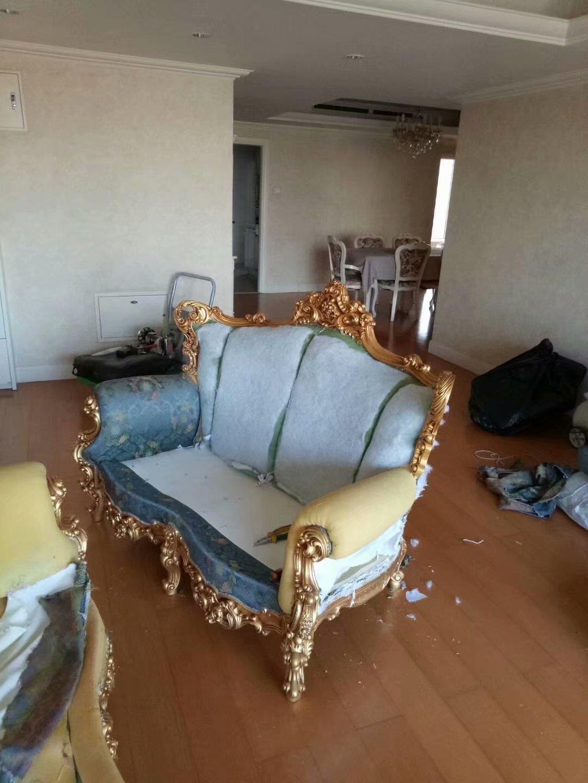 南開快餐椅沙發維修