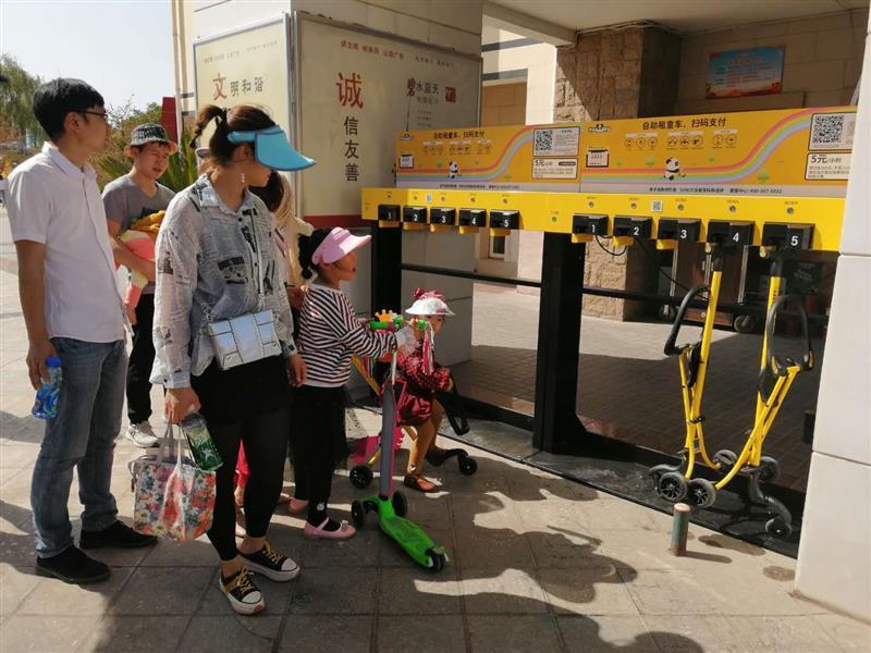杭州景區遛娃車定制