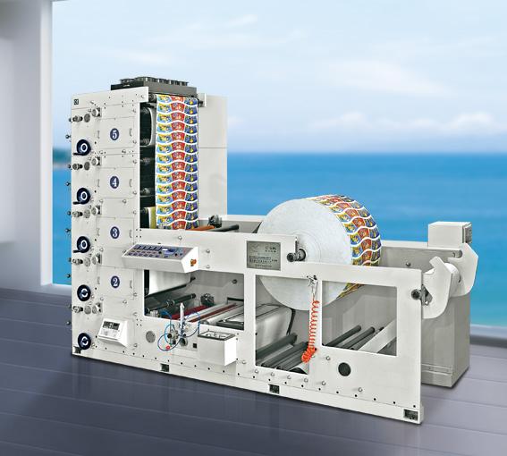 巢湖凹版印刷機 柔版卷筒印刷機 全自動卷對卷絲印機
