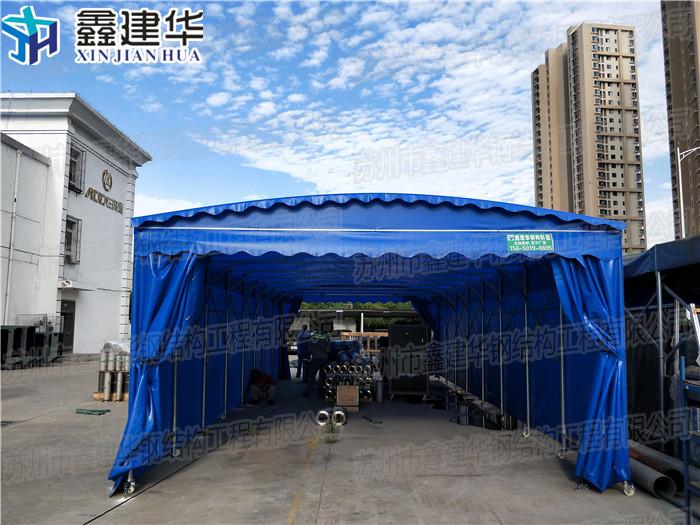 宣漢電動雨棚報價 倉庫雨棚 活動雨棚需求定制