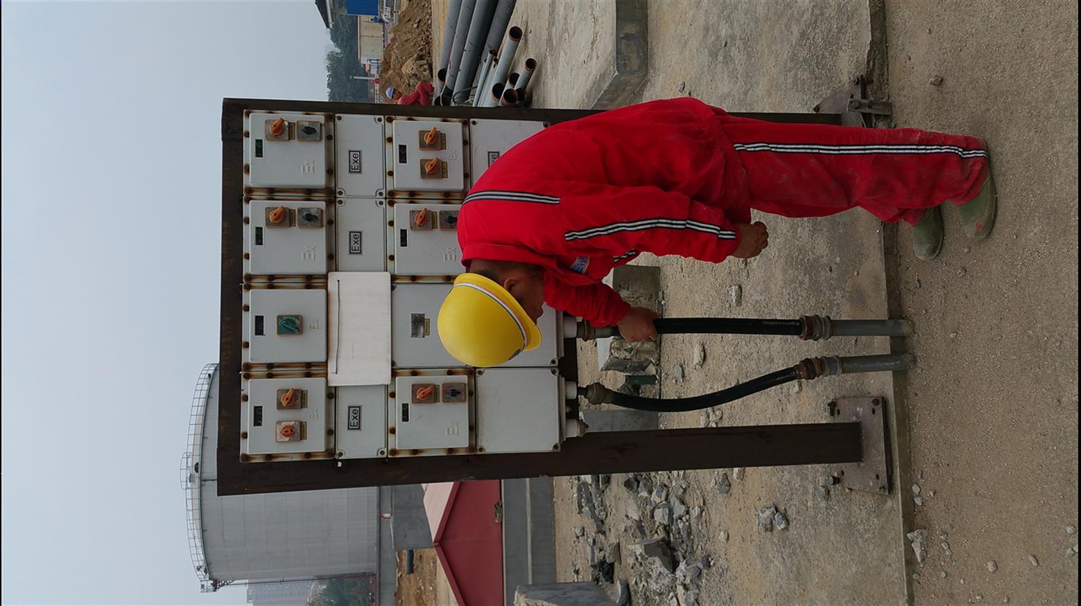 鄂州電氣儀表安裝施工_吹纜