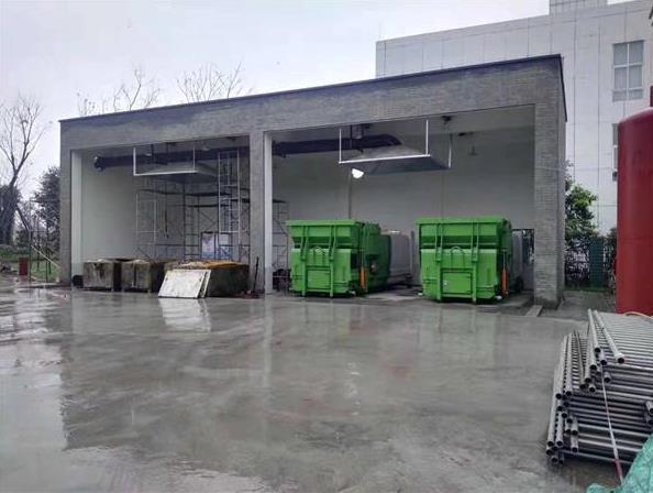 寧波小區小型農貿市場壓縮式中轉站