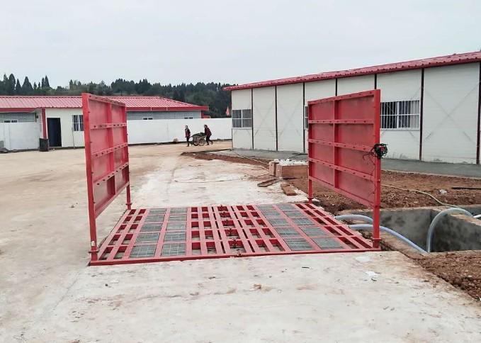 麗江建筑工地清洗設備價格 工程洗輪機 智能洗車
