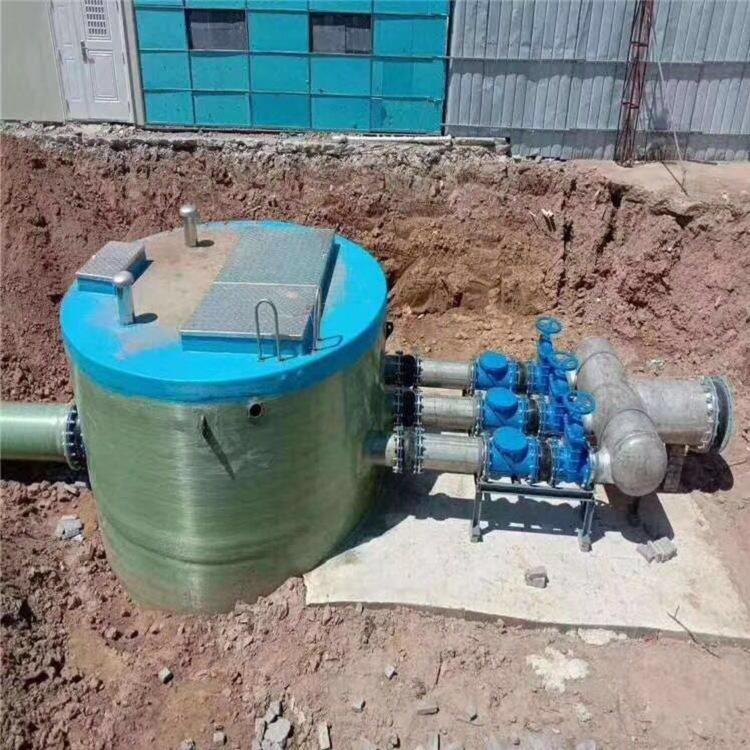 廉江市一體化泵站 玻璃鋼泵站 廠家價格
