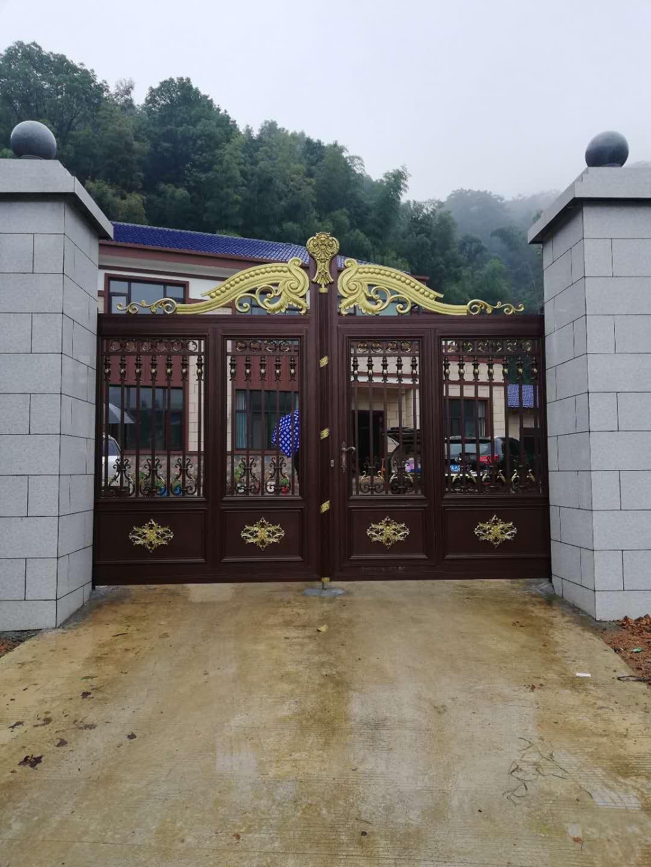蘆淞區鋁藝大門價格 老牌廠家