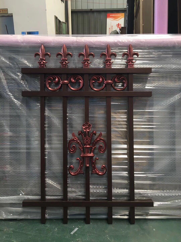 望城區金屬鋁合金圍欄廠家 價格實惠