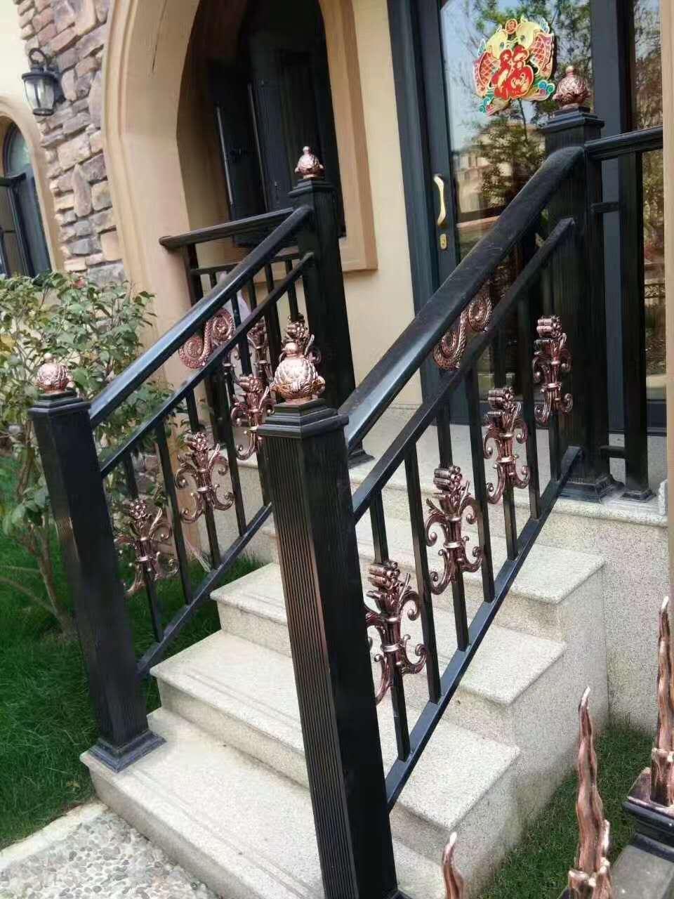 懷化復式樓鋁合金樓梯扶手公司 個性化設計