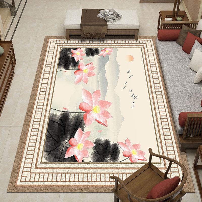 合肥歐式印花地毯直銷 水晶絨地毯