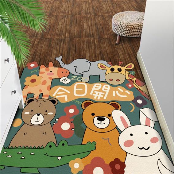 河源絲毛防滑地毯 皮革墊 **銷售