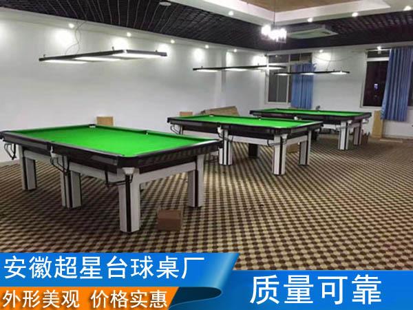 阜陽家用臺球桌 安徽*星體育公司
