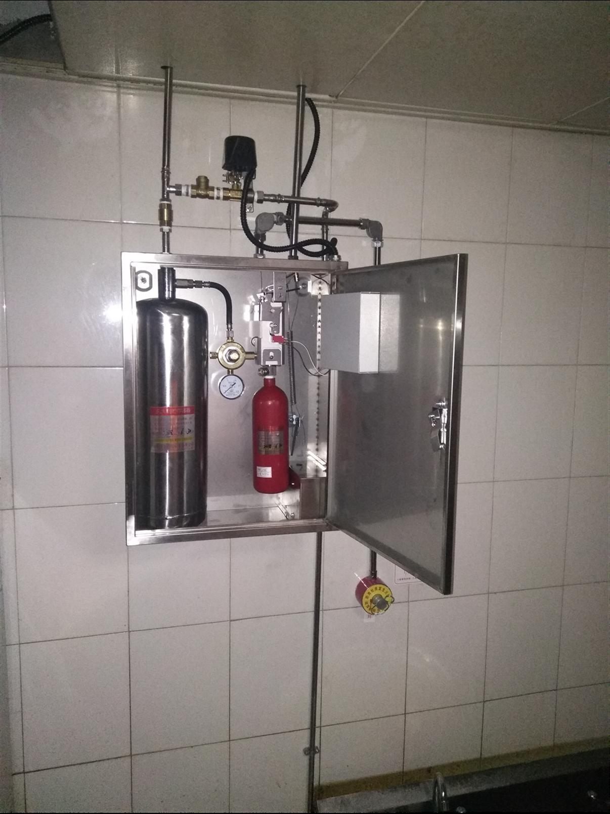 黃岡正規廚房自動滅火系統廠