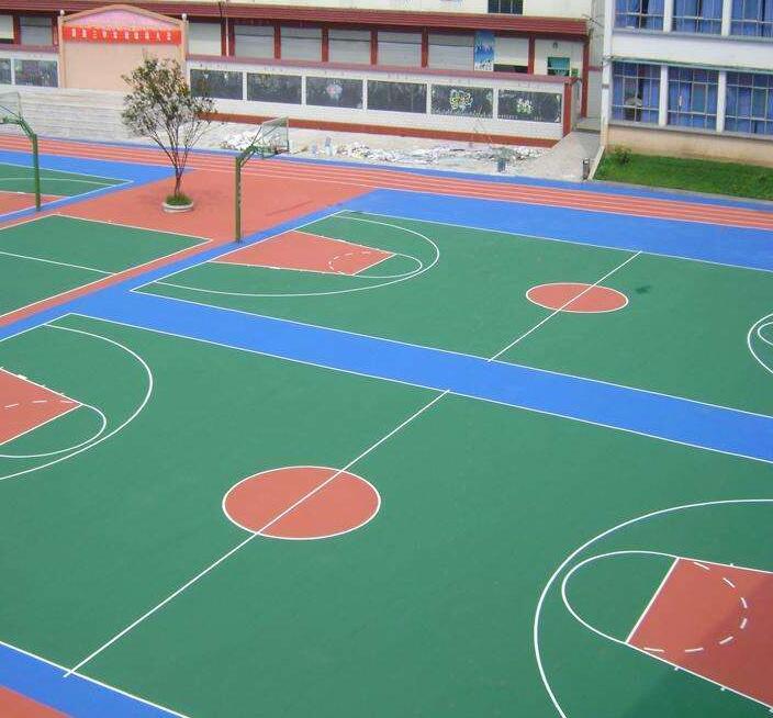 晉城戶外運動地坪-硅PU塑-適用范圍廣