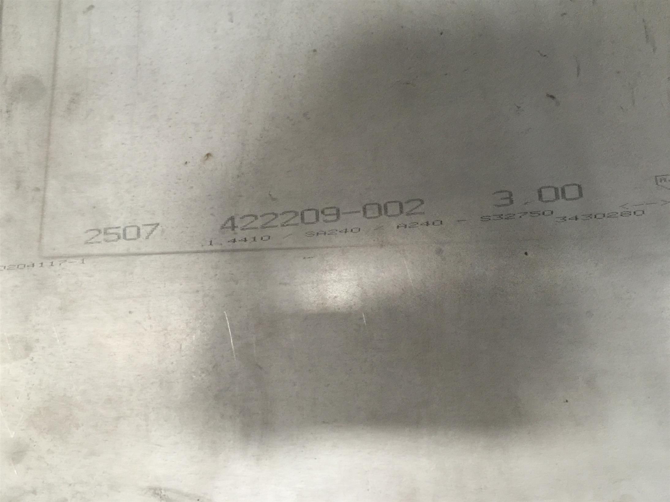 SAF2205雙相不銹鋼進口不銹鋼鋼板 你想要的都在這里