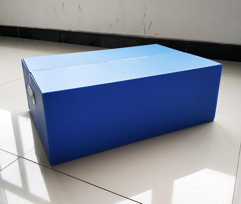 纸箱式PP中空板周转箱 可折叠中空板箱