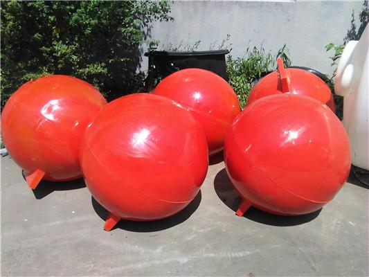 蚌埠拦污浮球报价 海上浮球 80公分拦污 柏泰