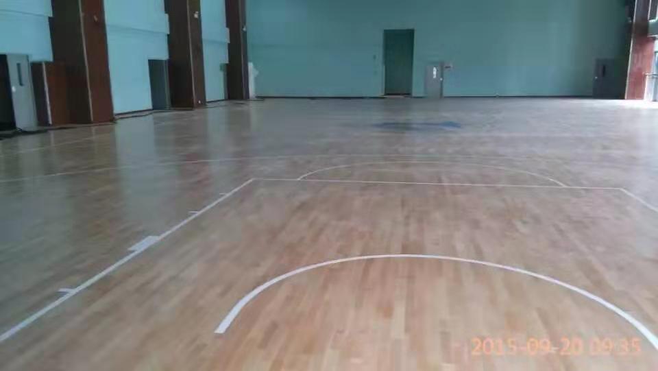 华容县进口运动木地板批发 实木运动地板
