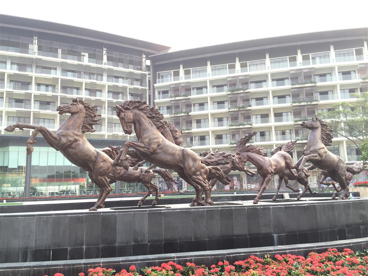 株洲马雕塑