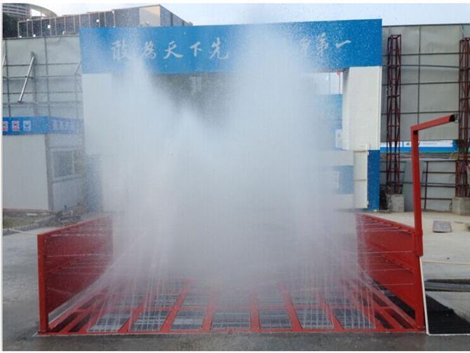东莞工程洗轮机规格 工程洗车机