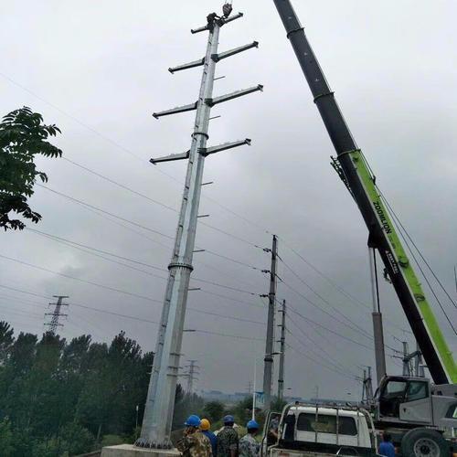 武汉四回路电力钢管塔规格