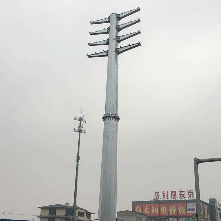 甘孜电力钢管杆生产厂家