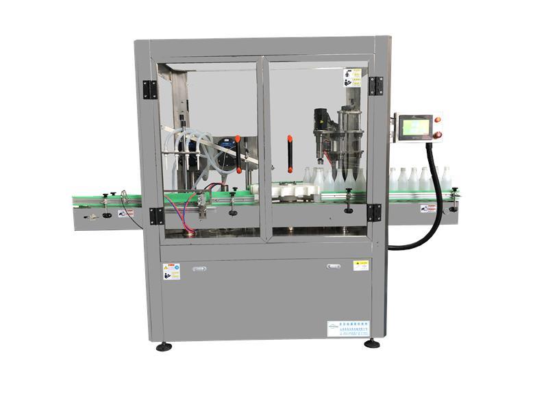 灌装旋盖一体机消毒液灌装机厂 品质优良