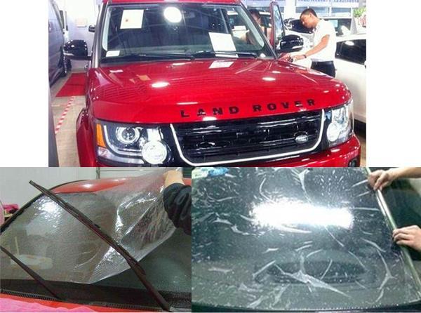 南坪汽车玻璃贴膜价格_保护原车漆